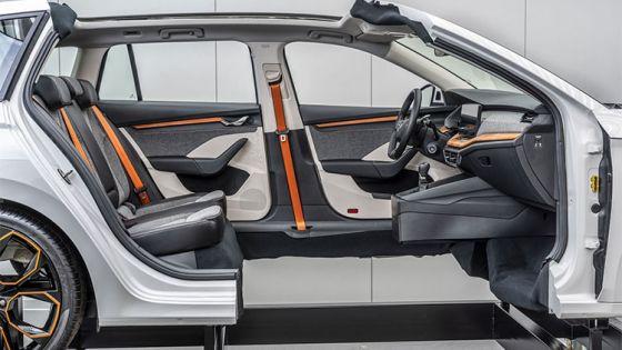 Skoda desarrolla un material ecológico para el interior de sus vehículos